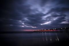 Hermosa Beach (jakesuh) Tags: california sunset sea reflection beach pier losangeles los angeles sigma wave 1020 hermosa hermosabeach s5pro