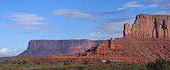 Big Indian and Mesa - Monument Valley - Utah (BlueVoter - thanks for 1.3M views) Tags: utah monumentvalley navajotriballand