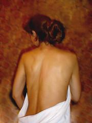 I am back (Time-Freeze) Tags: woman back timefreeze