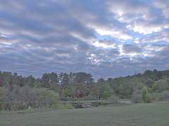 obligatory sunset #3:  full disclosure (huckleberryblue) Tags: sunset pond hdr hillsboroughnc fdrtools occoneecheestatepark