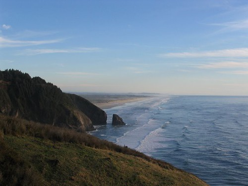 Oregon's Sand Dunes on the Pacific Ocean