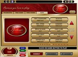 Villento Flash Casino Lobby