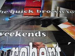 flach, Frankfurt/Main 2010 (Spiegelneuronen) Tags: plakate marken ausstellung frankfurtmain flach tobiasrehberger museumfrangewandtekunst ffentlicherraum plakatierung