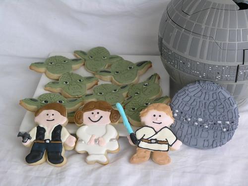 Star Wars cookies (2009)
