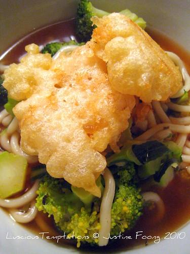 Tempura Udon - Weeknight Dinner