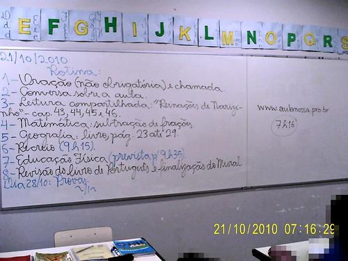 Rotina Prevista (21/10/2010)