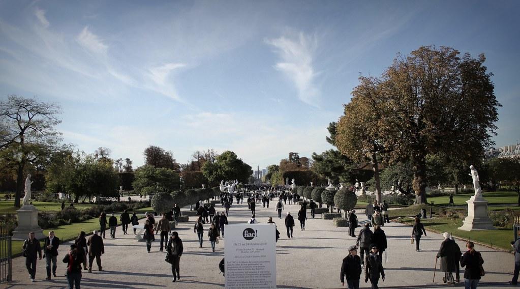La FIAC au jardin des Tuileries
