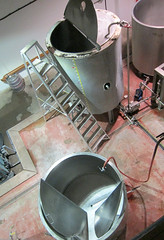 The brewery...