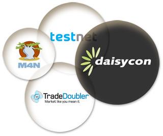 Een aantal Affiliate-marketing-netwerken in Nederland