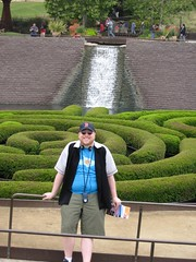 Me in the Getty Center Garden