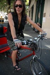 Casey Martell of Rose Pedal Pedicabs