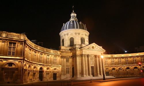Banque de france by night