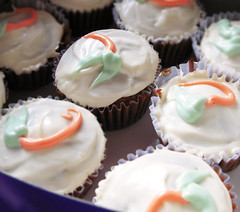 Carrot Cupcakes packed