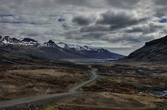 Journey To Middle Earth (Karnevil) Tags: road mountains nature clouds landscape iceland scenic coolest hdr snowpeaks outstandingshots flickrsbest