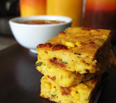 Italian Cornbread with Sundried Tomatoes