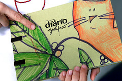 Dirio Grfico (Fafi) Tags: journal sketchbook dirio