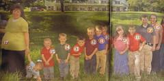 familjen med skitmånga barn