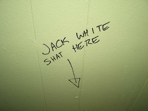 Jack White slogan