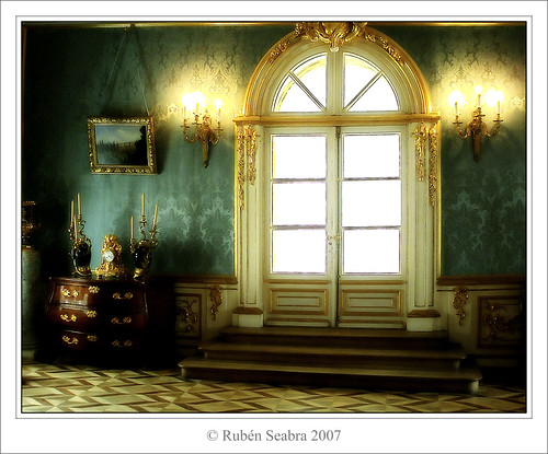 * The Blue Reception Room - Great Peterhof Palace