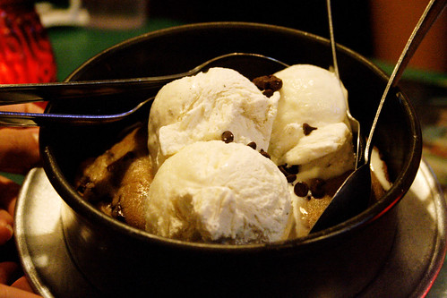 pizookie, ready for eating