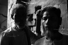 DSC_0369 (Tanja on flikr) Tags: 2005 bw india friendship rickshaw kolkata puller westbengal black38white