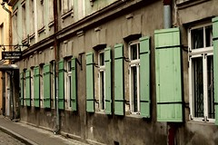 Row of windows (Petteri Lppnen) Tags: travel windows color green suomi finland tallinn estonia row 200 oulu eesti tallinna fav2 viro petteri acehigh aplusphoto wowiekazowie superhearts lppnen petterilppnen