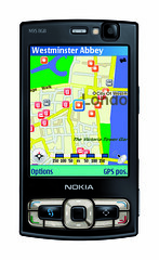 Nokia N95 8GB Maps