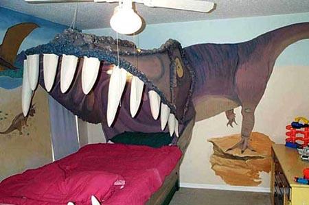 Nightmare inducing bed