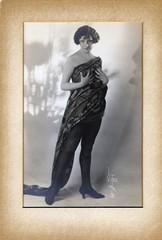 My Aunt Ida (Bodie Bailey) Tags: california family portrait history blackwhite bailey moviestar mae gaw 1915 ida witzel 6millionpeople hollywoodphoto