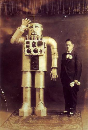 Robot humanoide de 1930