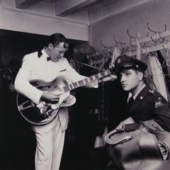elvis meets bill haley