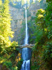 Revelstoke to Portland 590 (no body atoll) Tags: pictures trip travel bridge trees summer vacation cliff holiday green fall water oregon river portland landscape photo waterfall photos pics visit columbia falls gorge multnomah