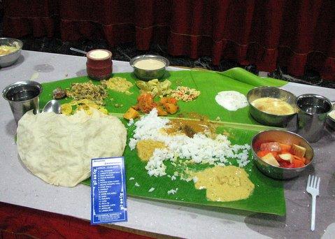 NuNi elai sAppAdu Anupama Swami wedding 140907