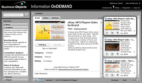 Information On Demand