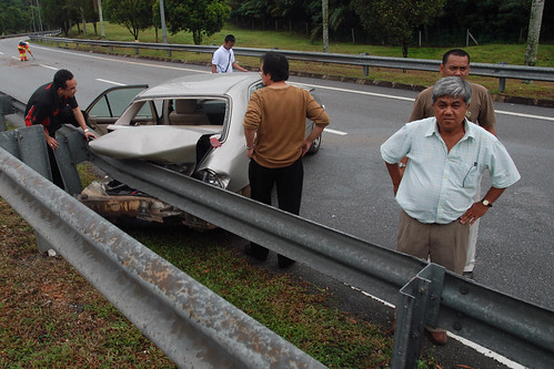 Accident near KLIA by simpology™.
