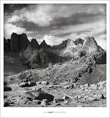 plate 670. (koaflashboy) Tags: 6x6 landscape fineart hasselblad duotone wyoming 12 continentaldivide windriverrange cirqueofthetowers ilfordfp4 jackasspass hli zonalpro