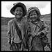 Niños del pueblo Shan, Birmania...