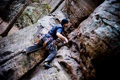 Feet: (mike.palic) Tags: rockclimbing southernillinois drapersbluffs soilltrad