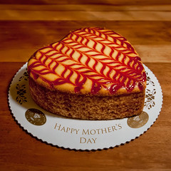 Happy Mother's Day (Apogee Photography) Tags: love austin nikon texas heart mother cheesecake bakery mothersday d5000 sweetishhillbakery nikond5000 nikon1024mmf3545