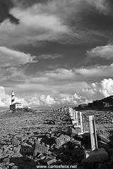 far_7665_web (Carlos Flix) Tags: bw lighthouse landscape faro felix carlos paisaje bn viajes menorca illa favaritx carlosfelix nubesnuvol