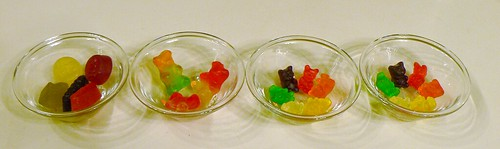 Gummi bears before