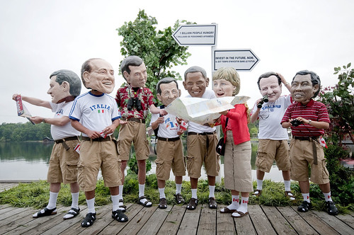 G8:  Lost tourists or powerful leaders? by Oxfam International.