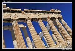 Doric Columns (Lock Stock and Travel) Tags: architecture ancient nikon stonework columns athens parthenon greece restoration marble acropolis antiquities doriccolumns ancientarchitecture 500bc d700 davidnaylor
