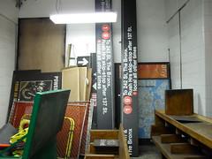 Bay Lower: storage area (Cria-cow) Tags: toronto abandoned subway ttc transit lowerbay baylower