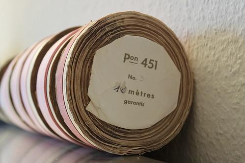 Satinband rosa pon 451 10 mètres