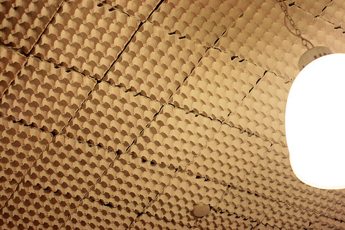 Soundproofing with egg cartons?