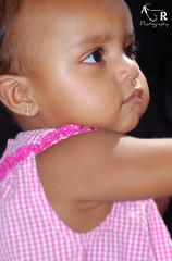My bb (rintintina) Tags: pink portrait baby cute love girl beautiful face angel dark children one nikon babies faces little niños niña kiddies