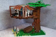 Kashyyyk (N-11 Ordo) Tags: 3 tree starwars kill order lego bricks 66 600 clones jedi sw clone episode blaster ordo moc lsw n11 kashyyyk order66 legomania swbrick n11ordo