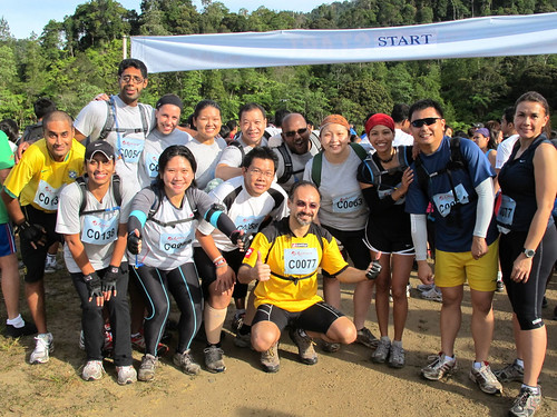 Genting Trailblazer 2010 - Original Bootcamp at starting line