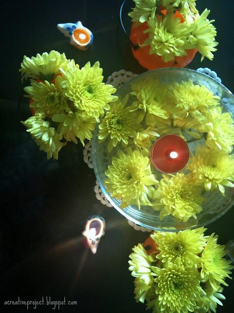 Diwali centerpiece